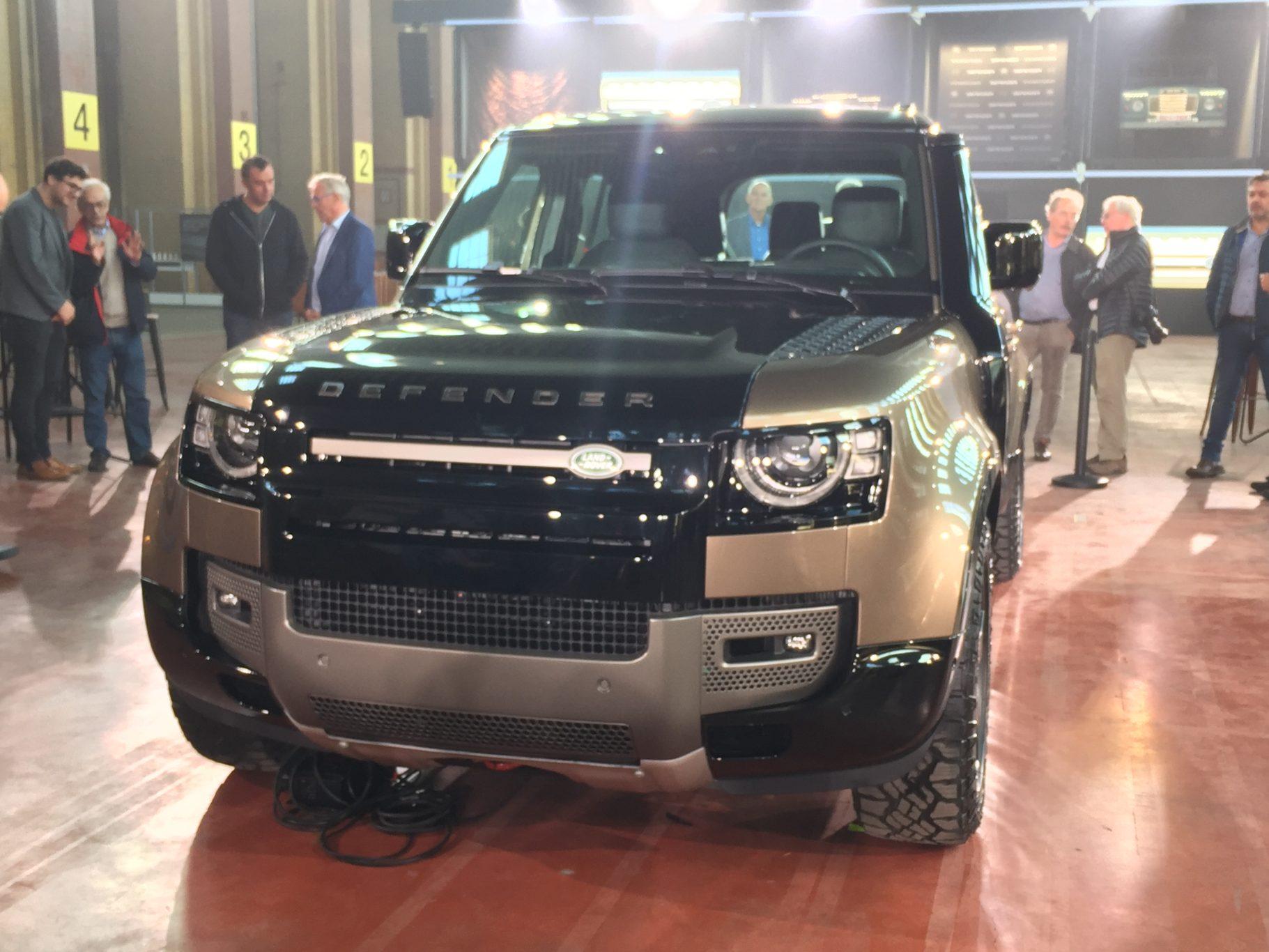 Présentation : The all-new Land Rover Defender