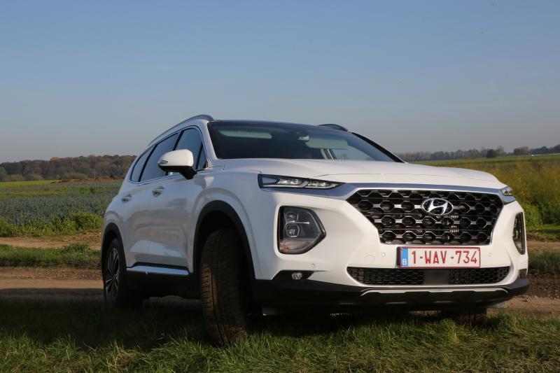 Essai Hyundai Santa Fe 2.2l CRDi