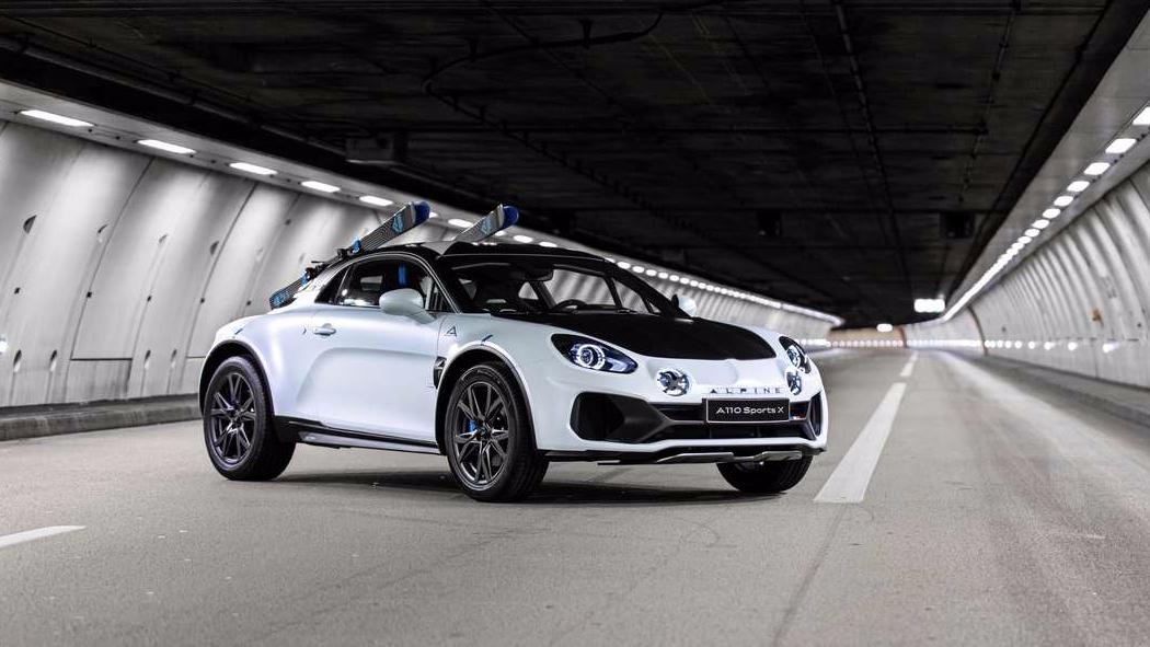 Alpine A110 Sports x, un crossover typé rallye pour le futur?