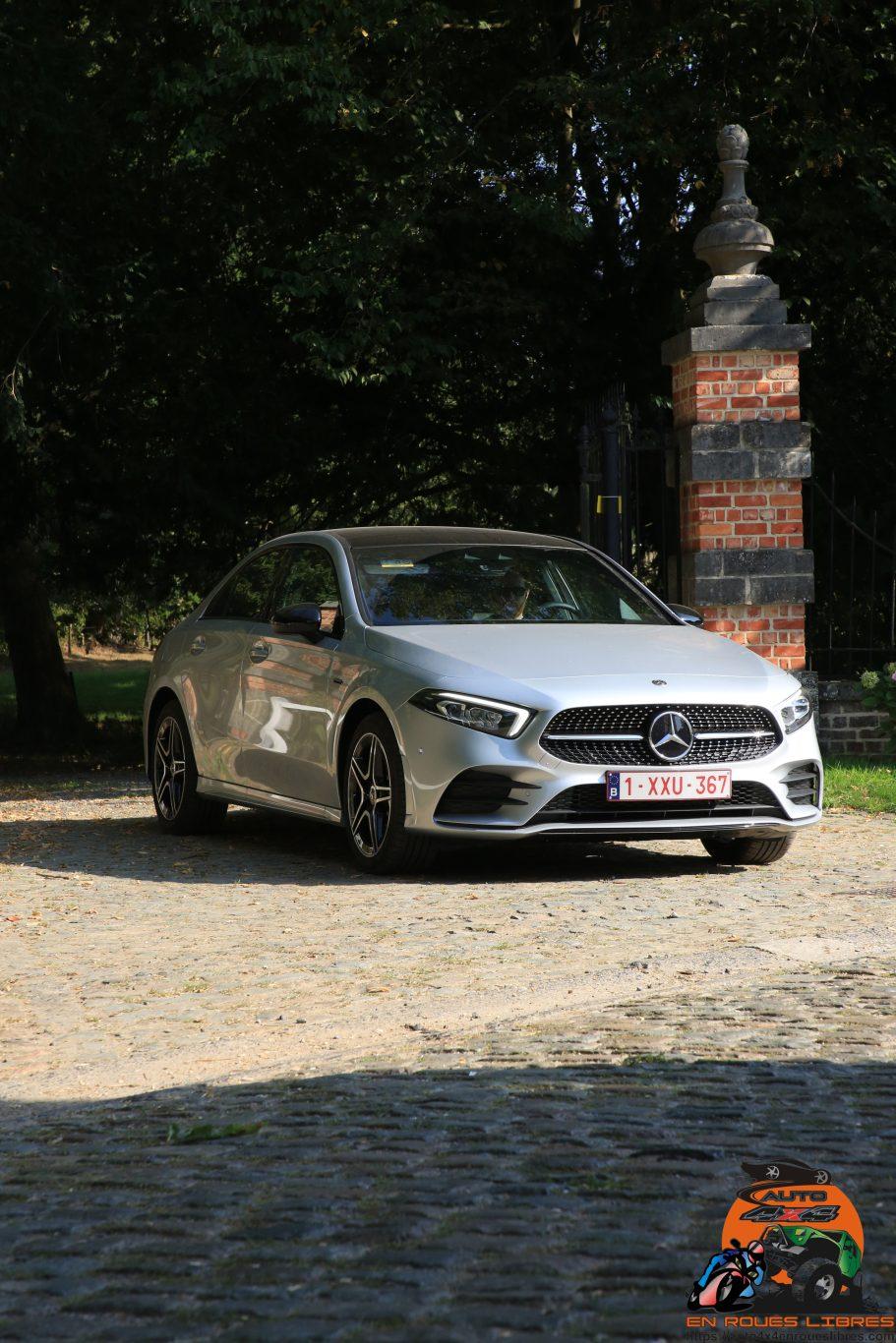 Audacieuse cette Mercedes Classe A 250 e berline