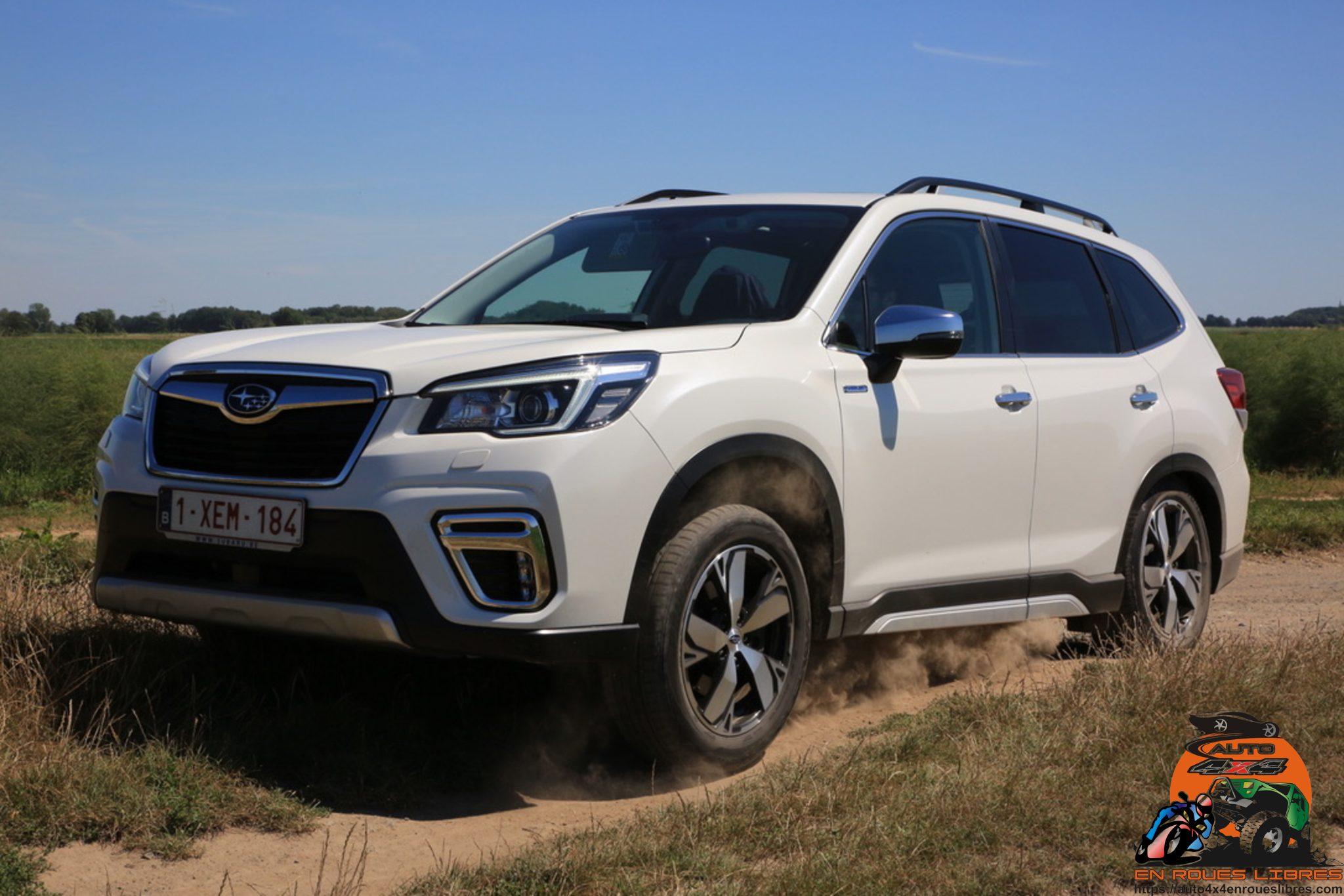 Le Subaru Forester 2.0i e Boxer, un suv hybride familial mais pas que !