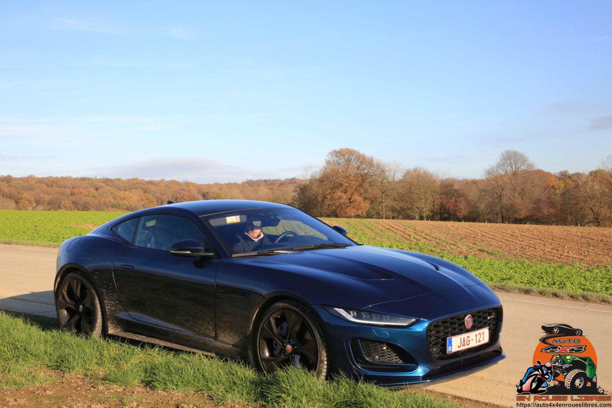 Jaguar F – Type RWD R – Dynamic 300 Ps Aut coupé, un petit moteur mais une grande sportivité !