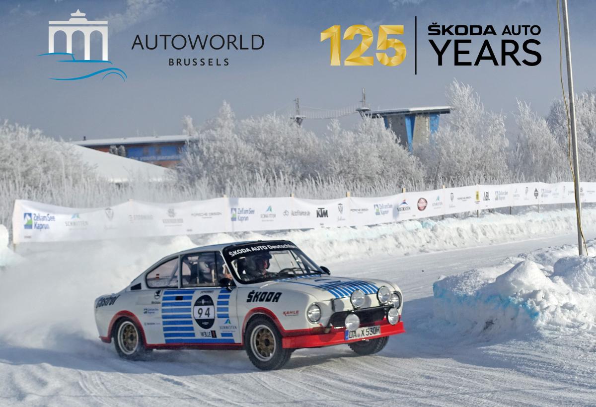 Inauguration de l'exposition AutoWorld : les 125 ans de Skoda