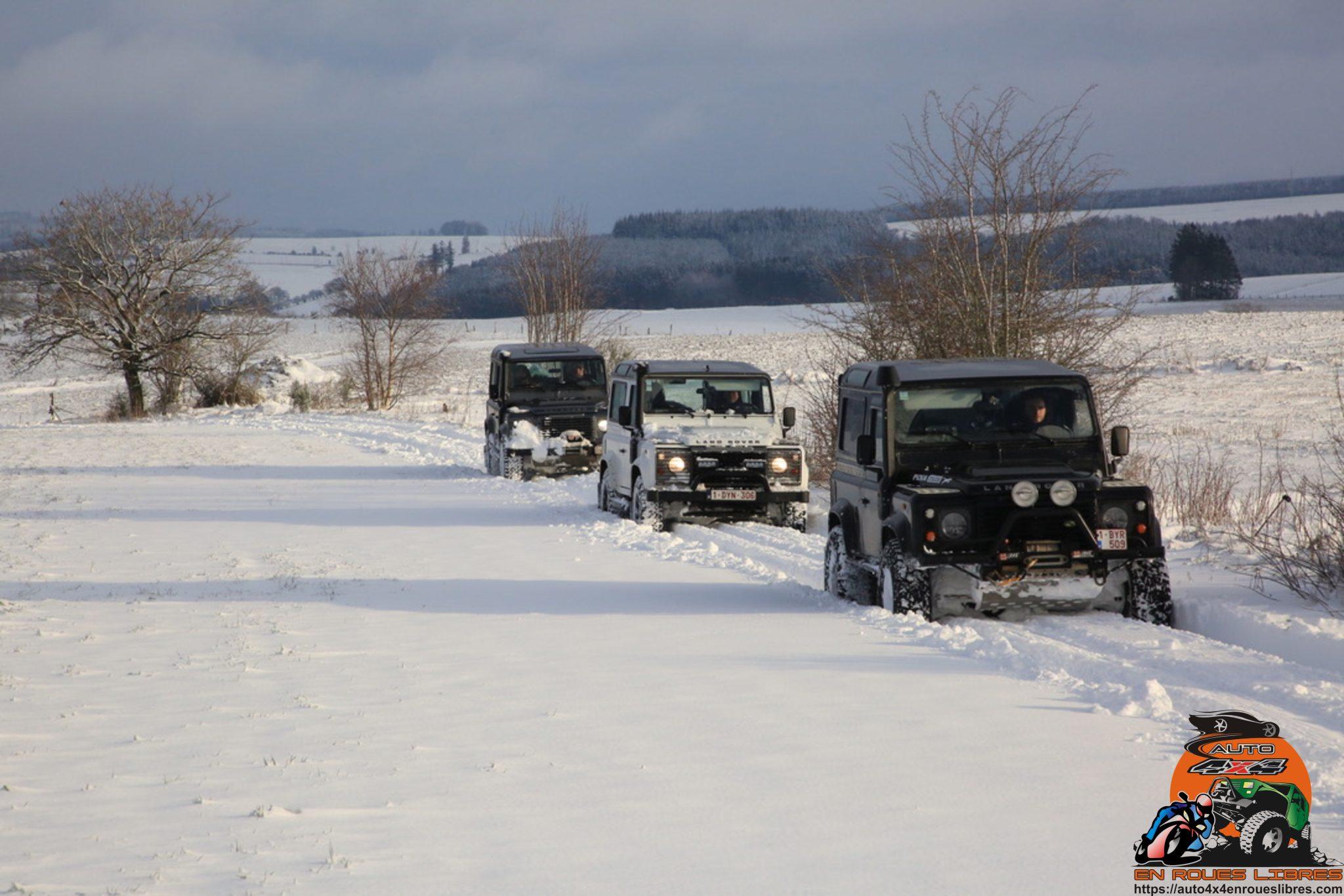 Balade hivernale : entre neige et soleil