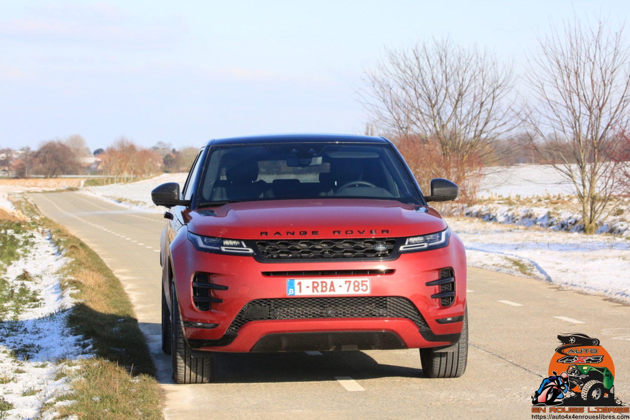 L'hybride plug in à la façon British : Essai du Range Rover Evoque P300e R-Dynamic SE