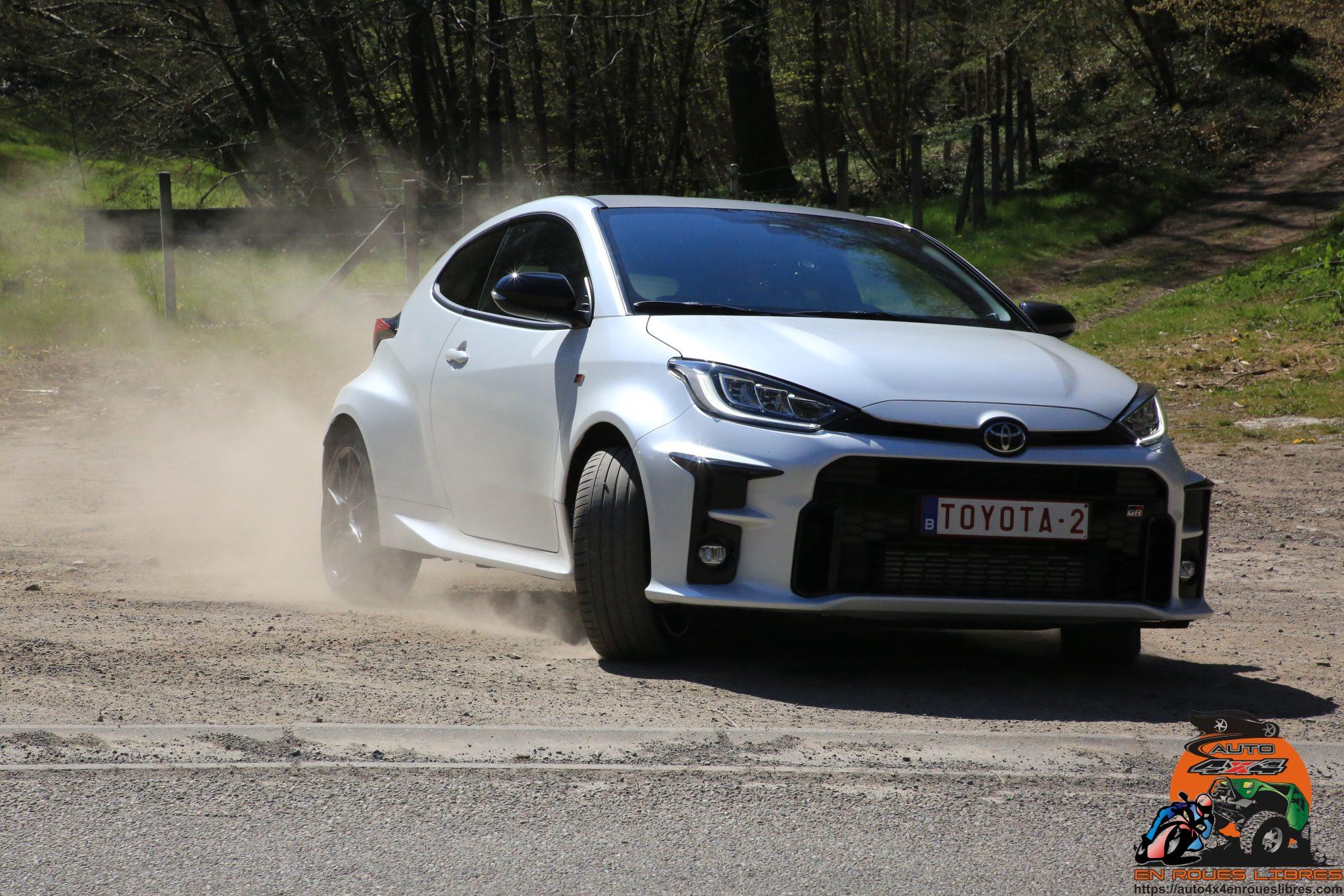 « Rallye ou street legal ? » Essai de la Toyota Yaris GR-Four !