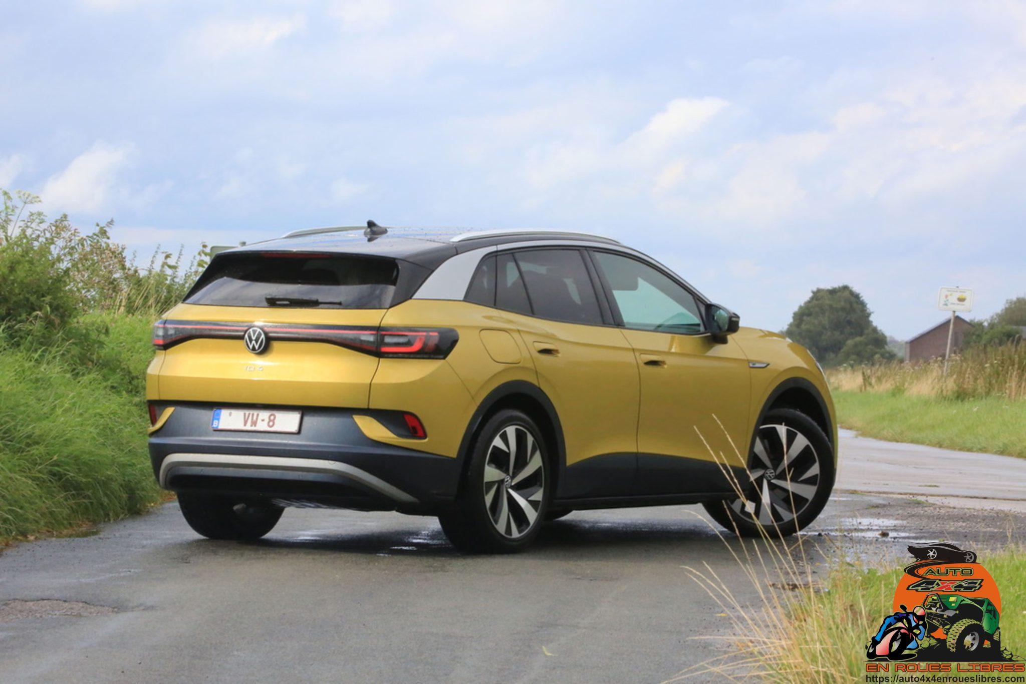 ESSAI VOLKSWAGEN ID4 : une VW familiale 100% électrique