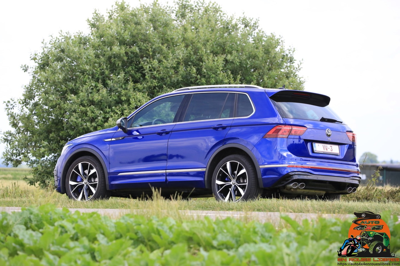 Essai VW Tiguan R 2.0l TSI 4MOTION : sportif et familial ?